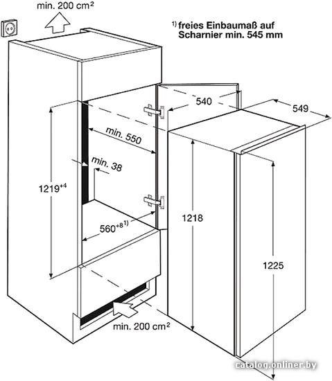 холодильник Electrolux ERN