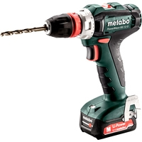 Metabo PowerMaxx BS 12 Q 601037500 (с 2-мя АКБ 2 Ah, кейс)