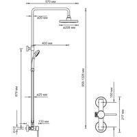 Картинки по запросу Душевая система Wasserkraft A12202