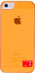 Чехол Hoco Crystal colorful case for iPhone 5 Orange