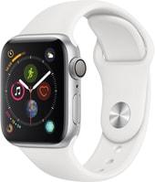 Apple Watch Series 4 40 мм (алюминий серебристый белый) 4f55e492911