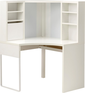 Ikea микке белый 00373924 письменный стол купить в минске