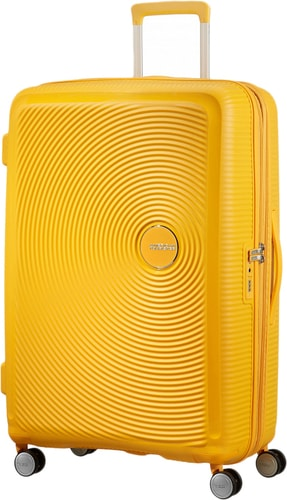 7942a8cb0e18 American Tourister SoundBox Golden Yellow 77 см чемодан-спиннер ...
