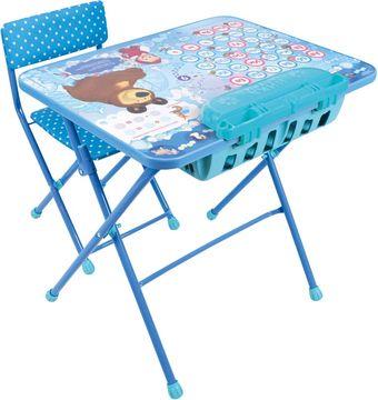 Nika маша и медведь азбука 4 ку2п18 детский стол купить в минске