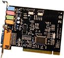 VIA C-Media 5.1 (5+1 ch)