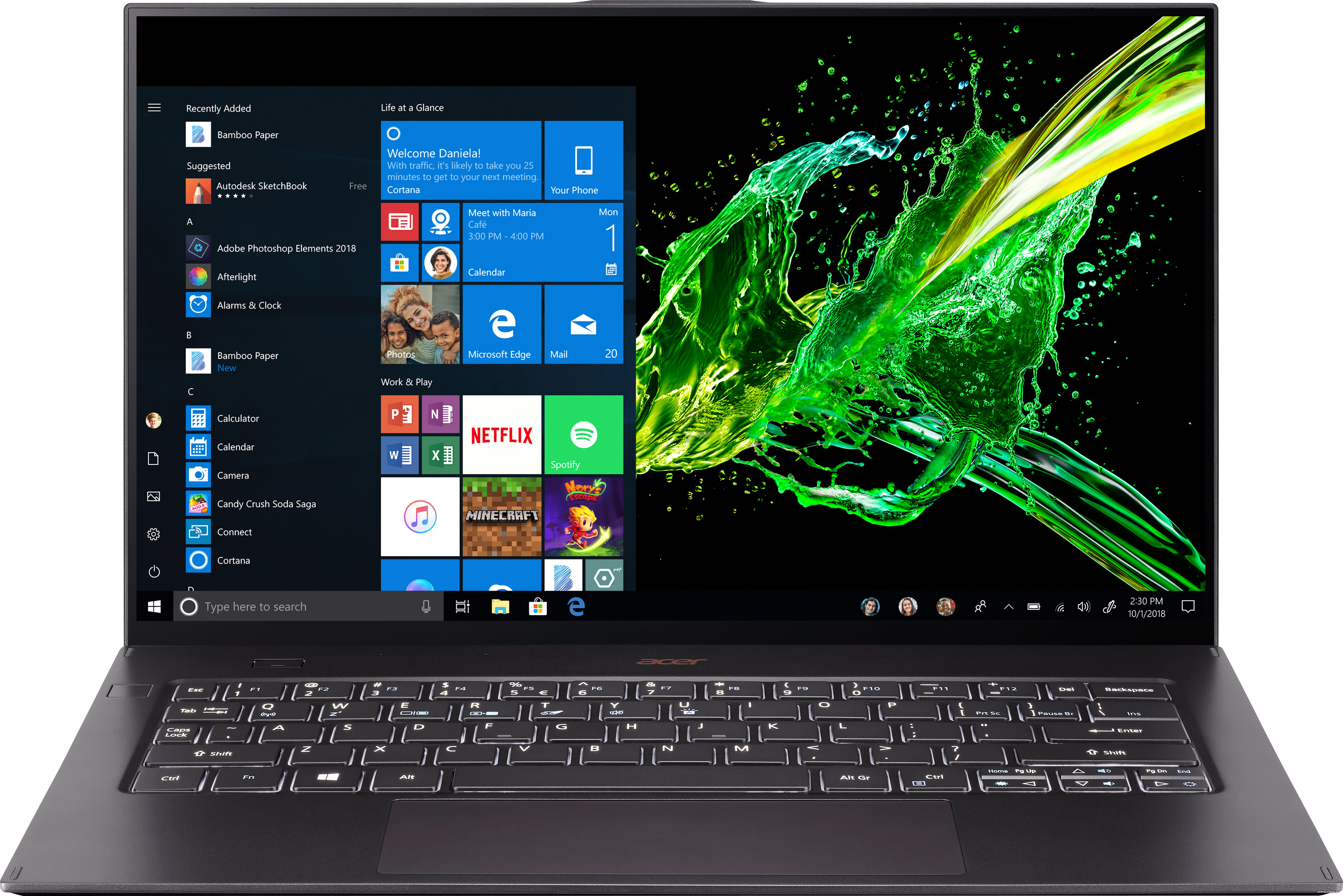 Acer Swift 7 SF714-52T-72EV NX.HB4EP.005 Image #1