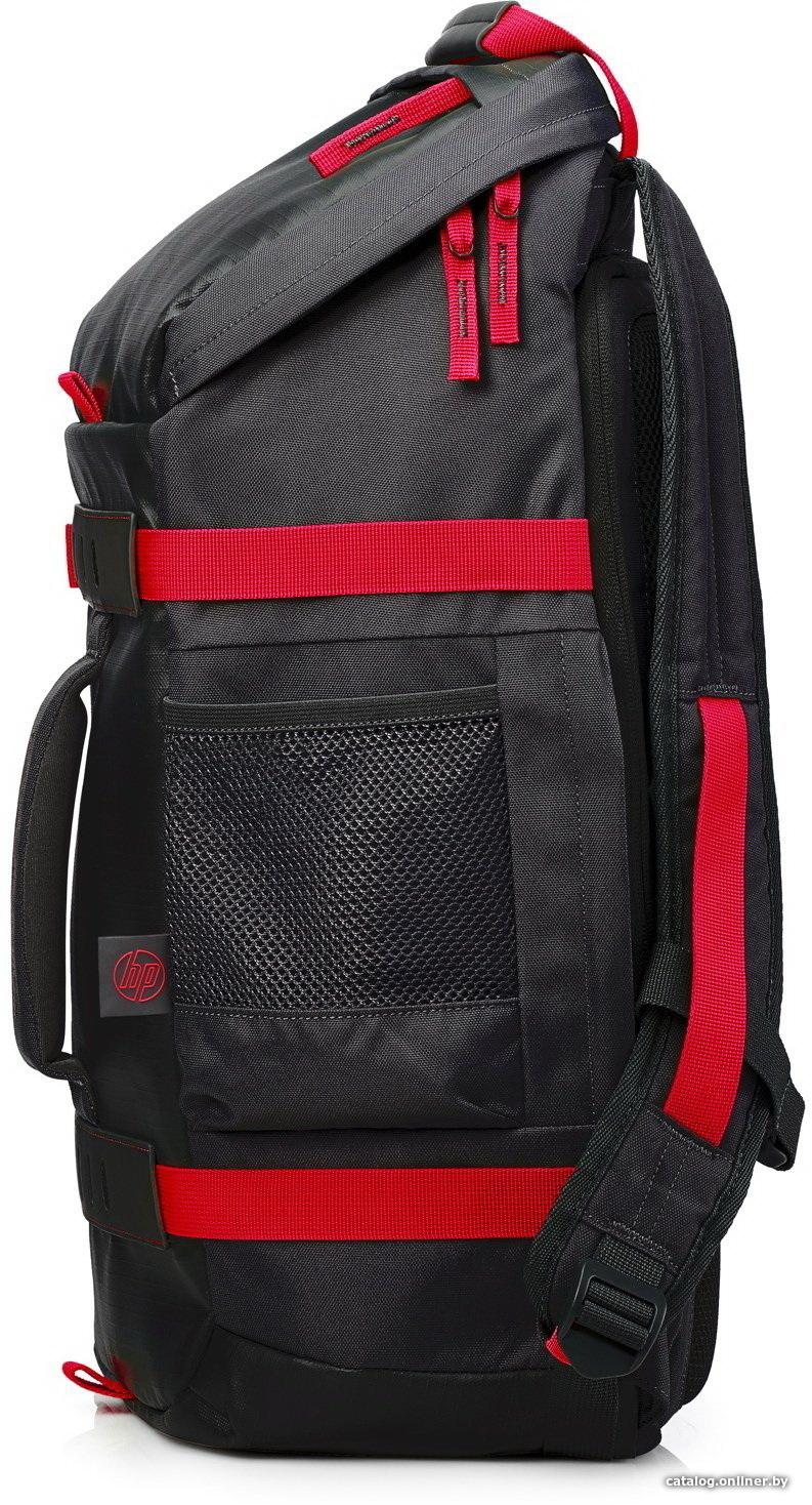c9a7f8375e70 HP Odyssey Backpack 15.6 (черный/красный) рюкзак купить в Минске
