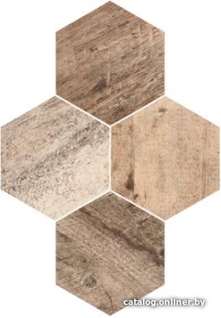 0ec36005492c Stargres Timber Heksagon 408x283 керамогранит (плитку грес) купить в ...