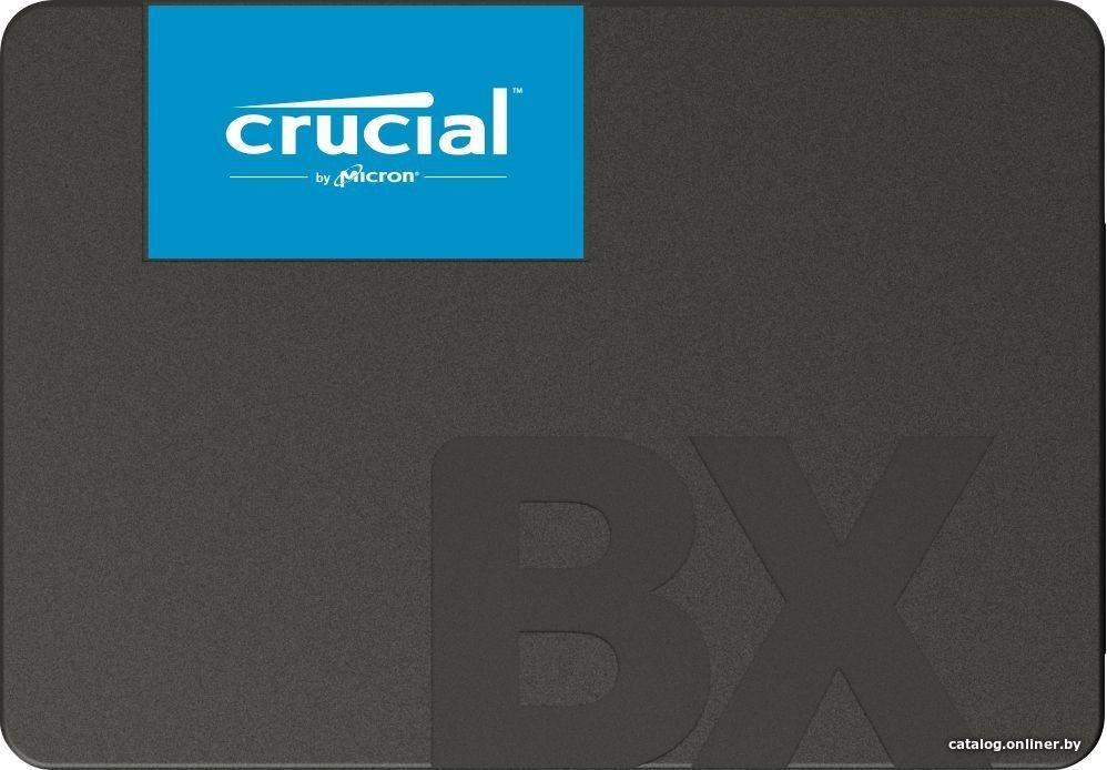Crucial BX500 120GB CT120BX500SSD1 SSD купить в Минске a6eda20918a