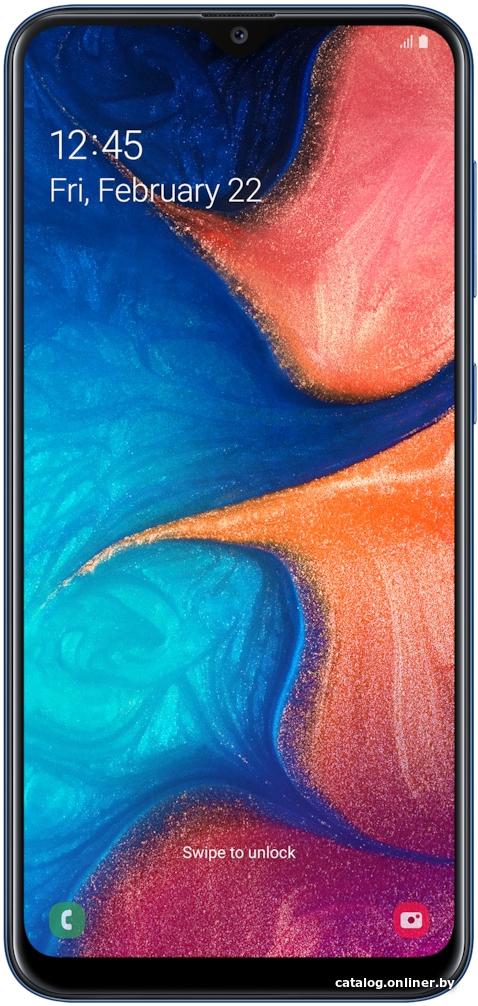 Samsung Galaxy A20 3GB/32GB (синий) Image #2