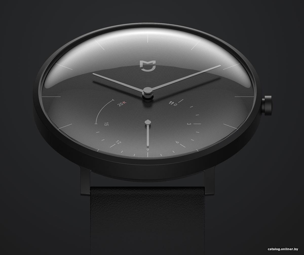 8c4bbfc4 Xiaomi MiJia Quartz Watch SYB01 (черный) умные часы купить в Минске