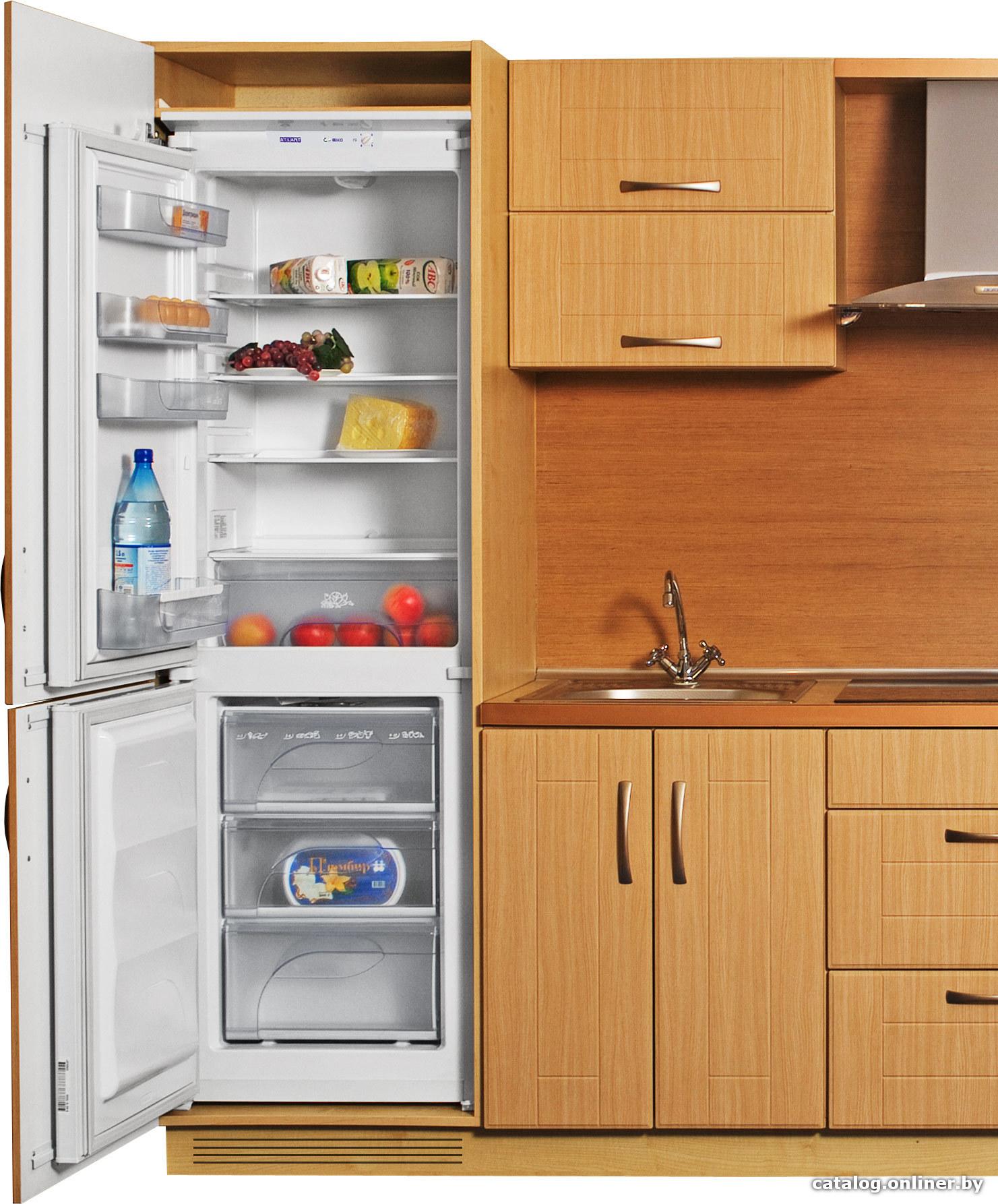 Встраиваемый холодильник атлант 4307 000 схема встраивания фото 933