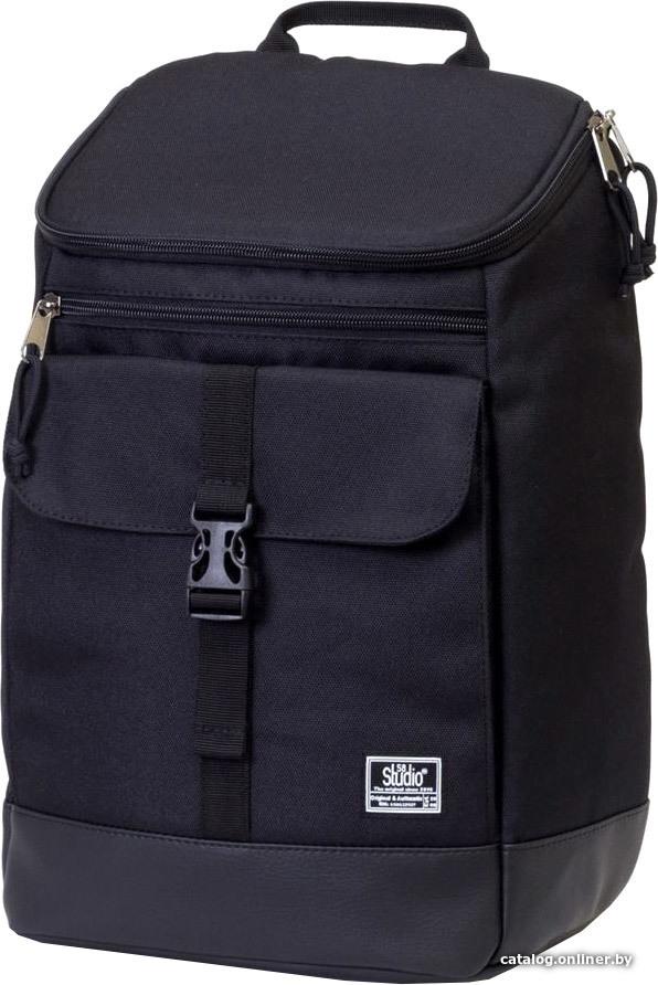 fb2f6a6c5246 Studio58 9012 (черный/черный кожзам) рюкзак купить в Минске