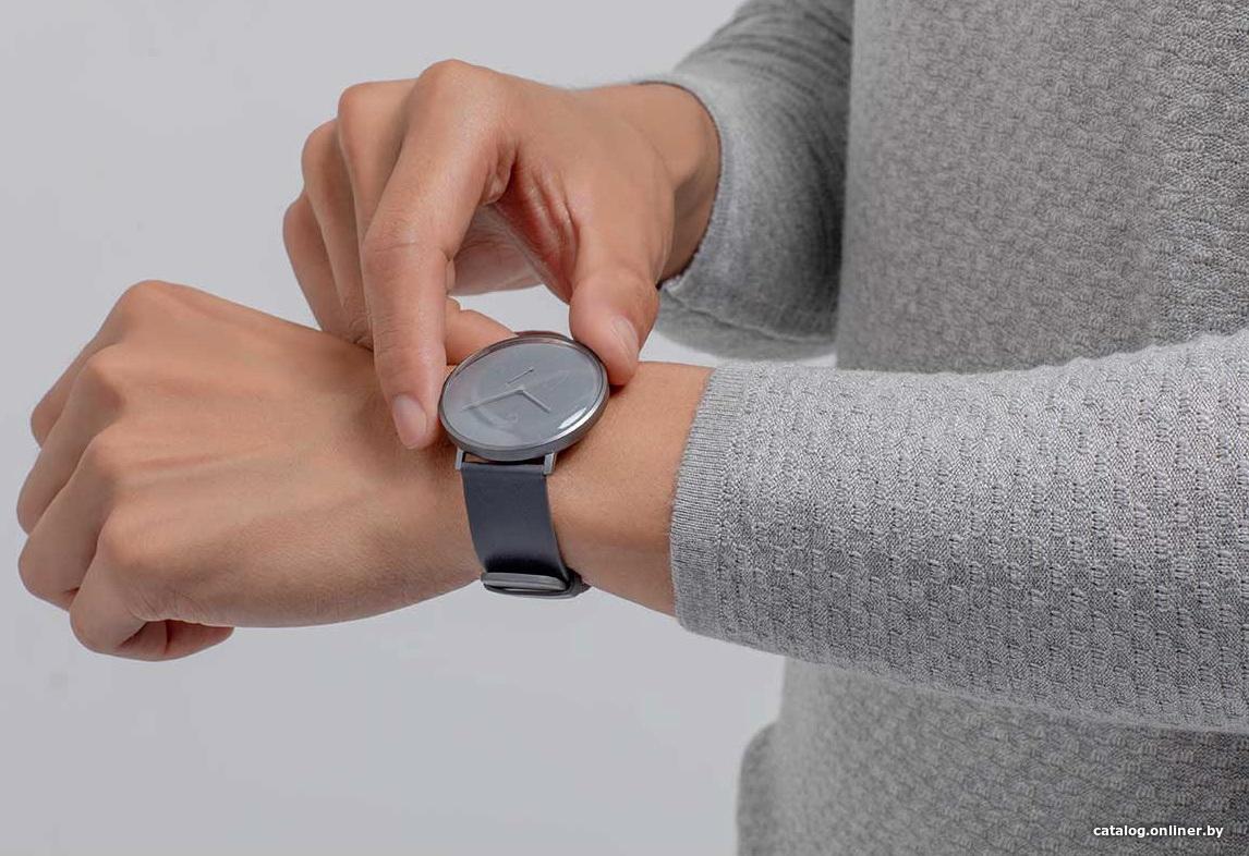 dd6d6044 Xiaomi MiJia Quartz Watch SYB01 (серый) умные часы купить в Минске