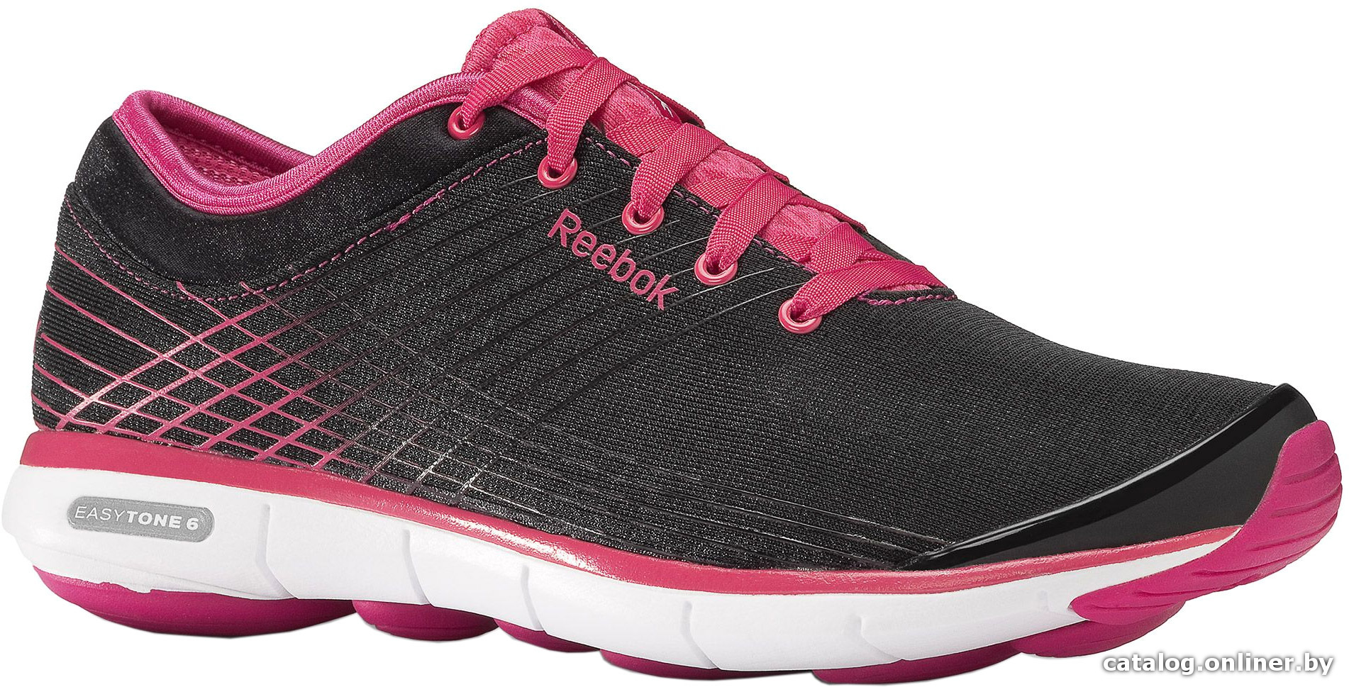 455c8a16 Reebok Easytone 6 Love черный-розовый (M45469) кроссовки купить в Минске