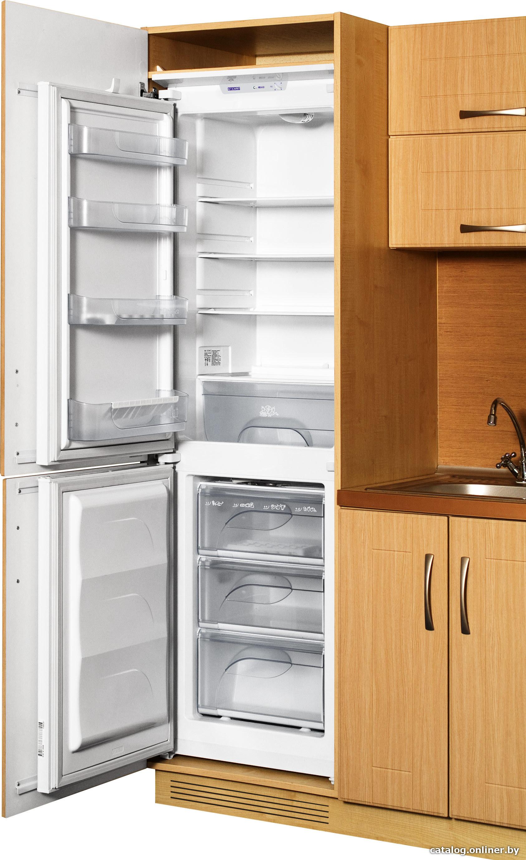 Встраиваемый холодильник атлант 4307 000 схема встраивания фото 725