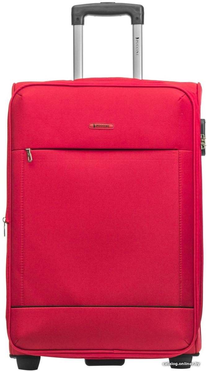 98dc4588fd49 Puccini Verona 53 см (красный) чемодан купить в Минске
