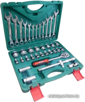 Braumauto BR-37 (37 предметов) универсальный набор инструментов купить в Минске