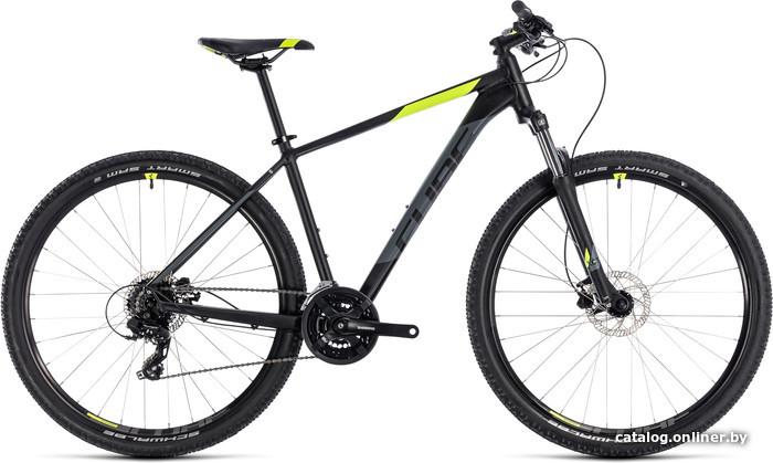 Cube AIM Pro 29 (черный, 2018) велосипед купить в Минске