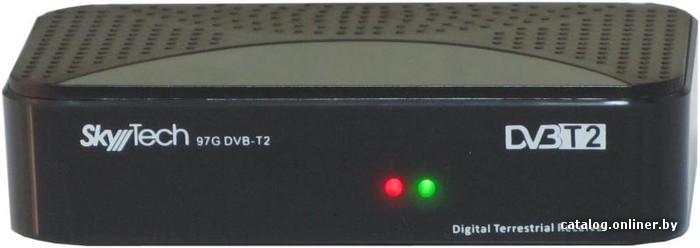 74dd5ce9ac81 Skytech 97G DVB-T2 приемник цифрового ТВ купить в Минске