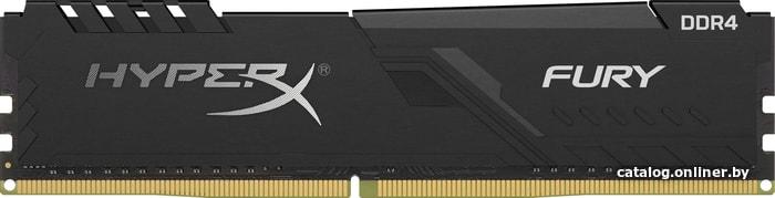 HyperX Fury 16GB DDR4 PC4-28800 HX436C17FB3/16 оперативную память купить в Минске