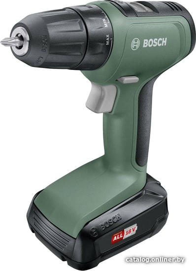 Bosch UniversalDrill 18 06039C8001 (с 1-им АКБ) дрель-шуруповерт купить в Минске