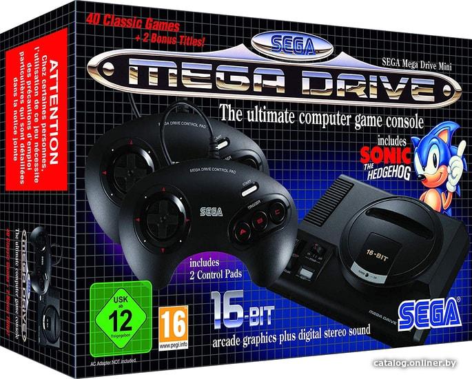 SEGA Mega Drive Mini игровую приставку купить в Минске