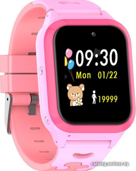LeeFine Q23 (розовый) умные часы купить в Минске