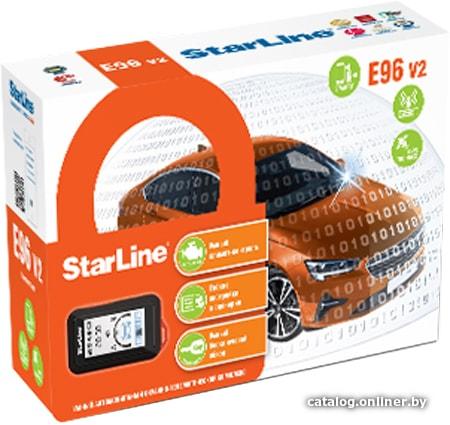 StarLine E96 BT GSM GPS v2 2CAN+4LIN 2SIM автосигнализацию купить в Минске