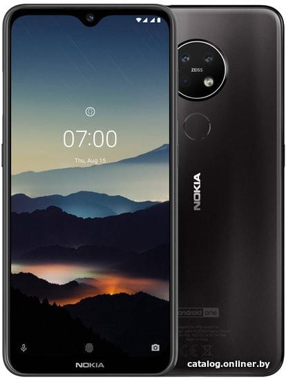 Nokia 7.2 4GB/64GB (черный) смартфон купить в Минске