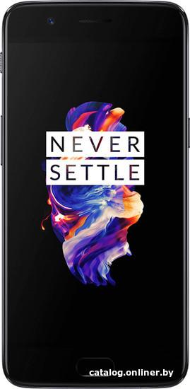 OnePlus 5 8GB/128GB (черный) смартфон купить в Минске