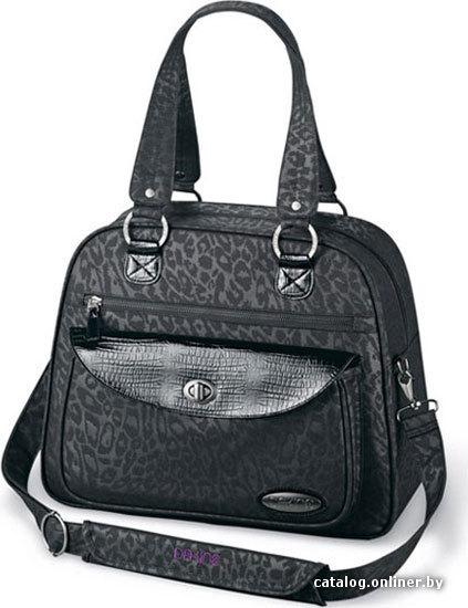 Женская дорожная сумка с отделением для ноутбука.