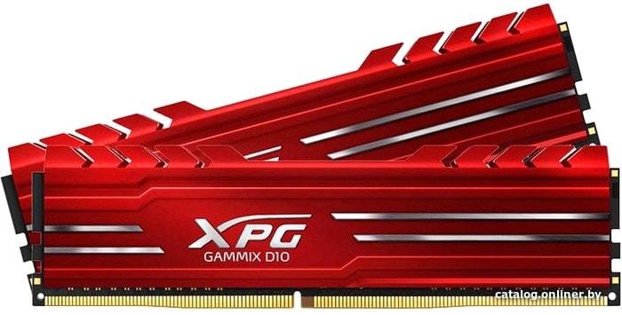 A-Data XPG GAMMIX D10 2x8GB DDR4 PC4-25600 AX4U320038G16A-DR10 оперативную память купить в Минске