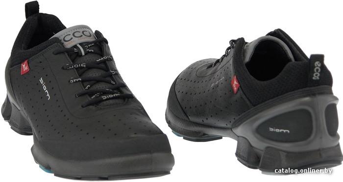 a7a555e4e Ecco Biom Walk чёрный (091174-53994) кроссовки купить в Минске