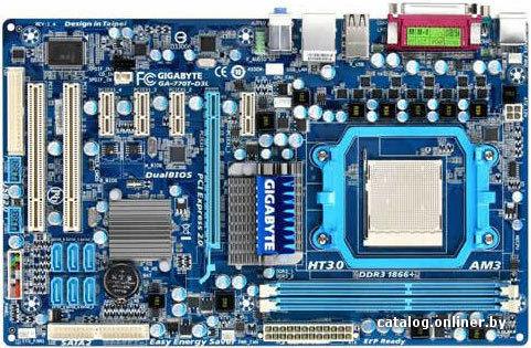 Gigabyte GA-770T-D3L (rev. 1.x) XP