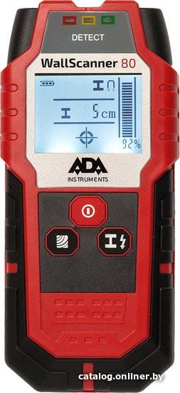 ADA Instruments Wall Scanner 80 детектор скрытой проводки купить в Минске