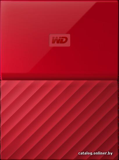 WD My Passport 1TB [WDBBEX0010BRD] внешний накопитель купить в Минске