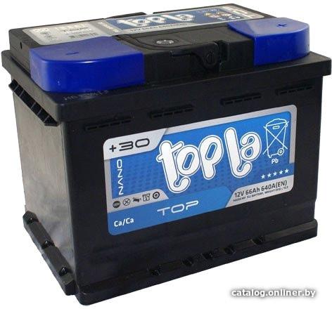 Topla TOP TT66H (66 А·ч) автомобильный аккумулятор купить в Минске