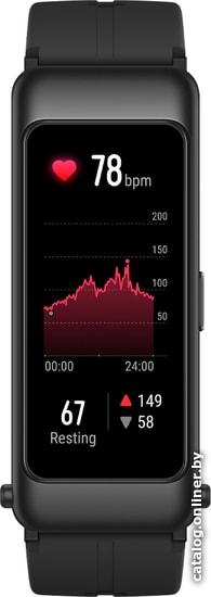 Huawei TalkBand B6 Sport Editon (графитовый черный) браслет-гарнитуру купить в Минске