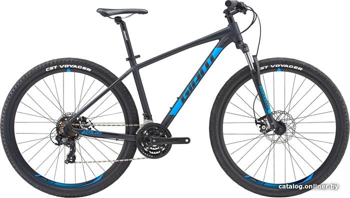 Giant Talon 29 4 GI (черный/синий, 2019) велосипед купить в Минске