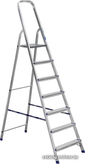 Алюмет алюминиевая AM707 лестницу-стремянку купить в Минске