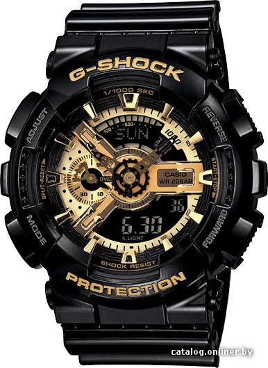 652491def3d4 Casio GA-110GB-1A наручные часы купить в Минске