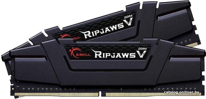 G.Skill Ripjaws V 2x8GB DDR4 PC4-24000 F4-3000C15D-16GVGB оперативную память купить в Минске