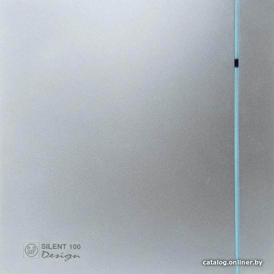 Soler&Palau Silent-100 CHZ Silver Design 5210603600 осевой вентилятор купить в Минске