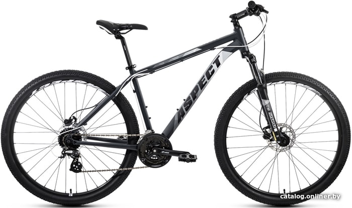 Велосипед Aspect Nickel 29 р.20 2020 (серый)