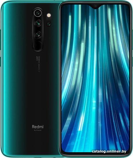 Смартфон Xiaomi Redmi Note 8 Pro 6GB/64GB международная версия (зеленый)