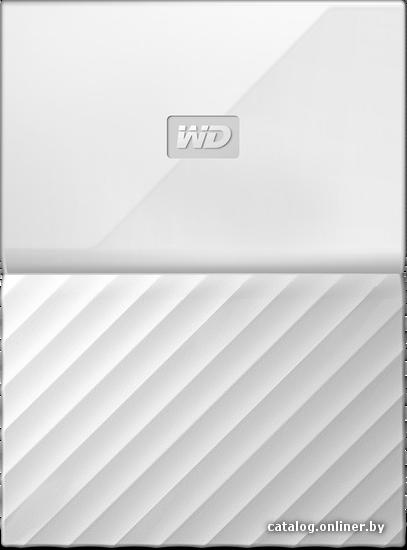 WD My Passport 1TB [WDBBEX0010BWT] внешний накопитель купить в Минске