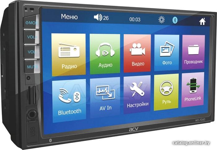 ACV WD-7040 USB-магнитолу купить в Минске