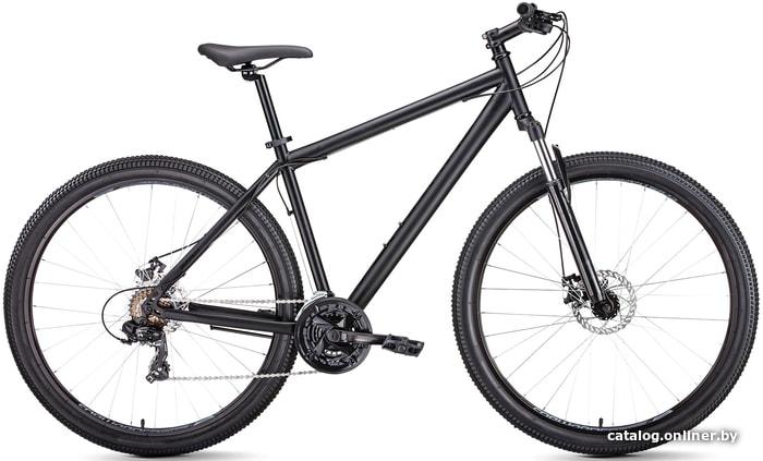 Forward Sporting 29 2.0 disc (черный, 2019) велосипед купить в Минске