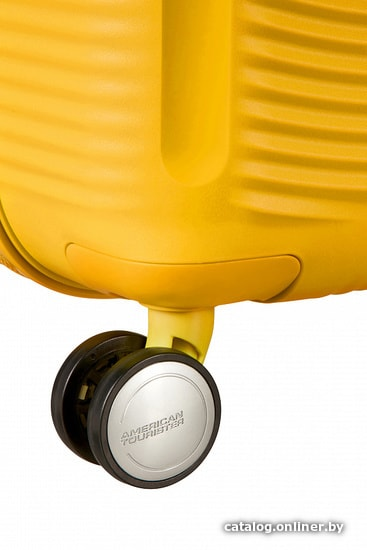 2a1697b86ca5 American Tourister SoundBox Golden Yellow 55 см чемодан-спиннер ...